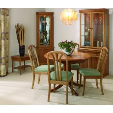 Sutcliffe Trafalgar Slatted Back Rounded Top Dining Carver