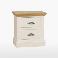 TCH Coelo Wide 2 Drawer Bedside Chest