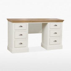 TCH Coelo Double Pedestal Dressing Table.