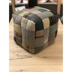 Vintage Patchwork Wool Bean Bag