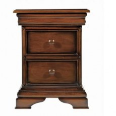Normandie 3 Drawer Bedside Chest.