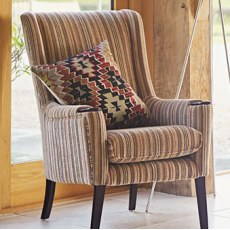 Parker Knoll Sienna Fabric High Back Chair