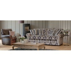 Parker Knoll Canterbury Fabric 3 Seater Grand Sofa