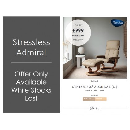 Admiral Medium Classic Chair (SPECIAL OFFER)