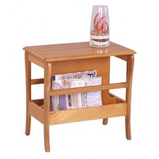 Sutcliffe Trafalgar Occasional Table with Magazine Rack