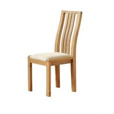 Ercol Bosco Dining Chair - Cream Fabric