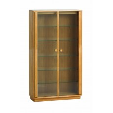 Ercol Windsor Medium Display Cabinet