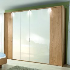 Disselkamp Balance Wardrobe (6 hinged doors)