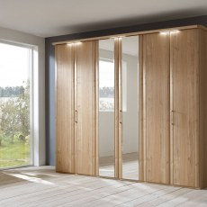 Disselkamp Coretta Wardrobe (6 hinged doors)