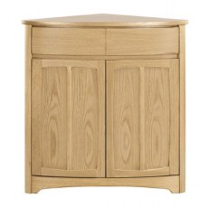 Nathan Shades Oak Shaped Corner Base Unit