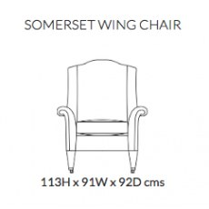 Duresta Somerset Wing Chair