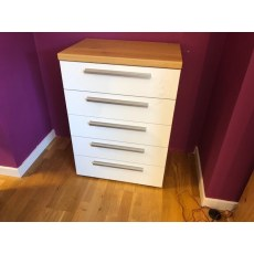 Disselkamp Cloud7 5 Drawer Chest.