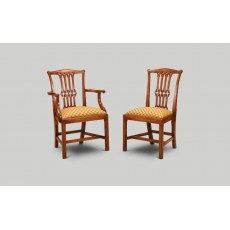 Iain James GC02/GC01 Gothic Country Chippendale Dining Chair.
