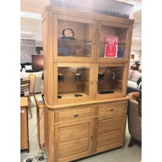 MTE Faro 2 Door Display Cabinet.