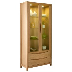 Seville Tall Display Cabinet