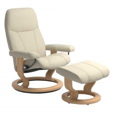 Stressless Mayfair Small Recliner with Stool SPECIAL OFFER