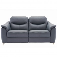 G Plan Jackson 3 Seater Leather Sofa