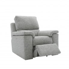 G Plan Taylor Fabric  Manual Recliner Armchair