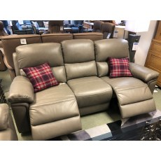 Helsinki 3 Seater Double Power Recliner Sofa.