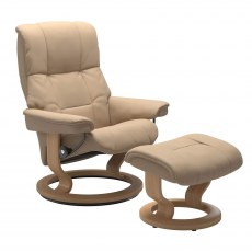 Stressless Mayfair Medium Recliner with Stool SPECIAL OFFER