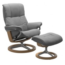 Stressless Mayfair Large Recliner with Stool (Signature Base) SPECIAL OFFER