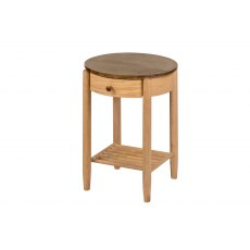 Paris Round Bedside Table