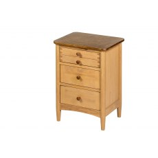 Paris 3 Drawer Bedside Cabinet