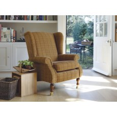 Parker Knoll York Fabric Wing Chair