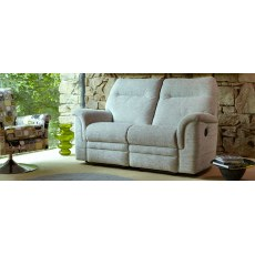 Parker Knoll Hudson Fabric Manual 2 Seater Sofa