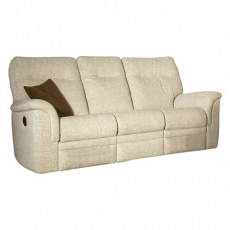 Parker Knoll Hudson Fabric Manual 3 Seater Sofa