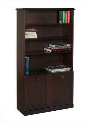 Sutcliffe Sutcliffe Trafalgar Bookcase with 2 Doors & 3 Shelves