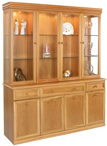 Sutcliffe Sutcliffe Trafalgar Display Unit 863B-863T with Mirror Back