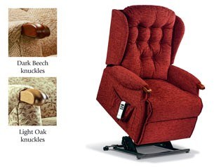 Sherborne Sherborne Lynton Knuckle Royale Lift Electric Recliner