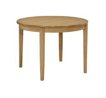 Nathan Nathan Shades Oak Circular Dining Table on Legs