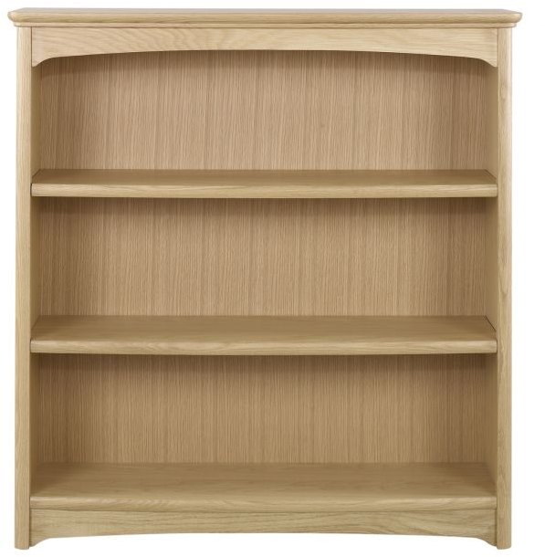 Nathan Nathan Shades Oak Mid Double Bookcase