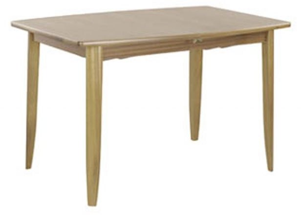Nathan Nathan Shades Oak Small Boat Shaped Dining Table on Legs
