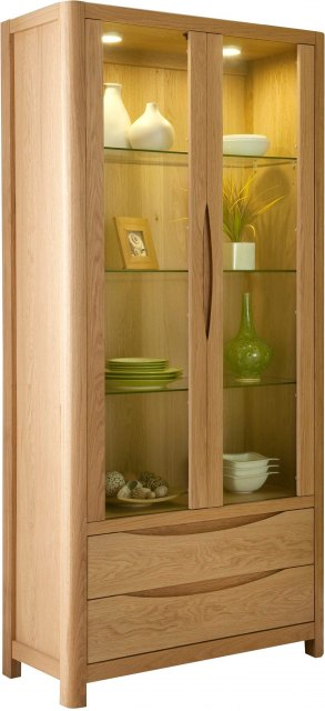 Seville Living & Dining Seville Tall Display Cabinet