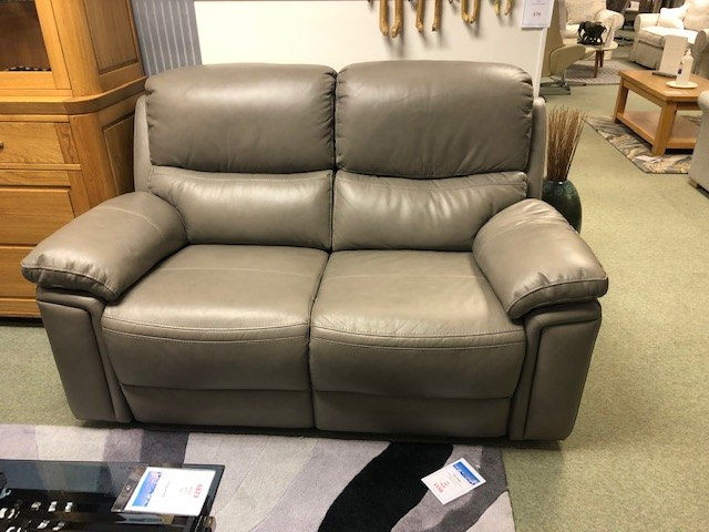 Helsinki 2 Seater Double Power Recliner Sofa.