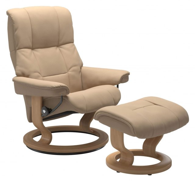 Stressless Stressless Mayfair Small Recliner with Stool SPECIAL OFFER