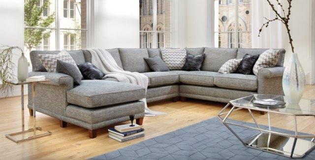 Duresta Haywood Fabric Corner Sofa