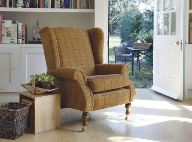 Parker Knoll Parker Knoll York Fabric Wing Chair