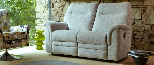 Parker Knoll Parker Knoll Hudson Fabric Manual 2 Seater Sofa