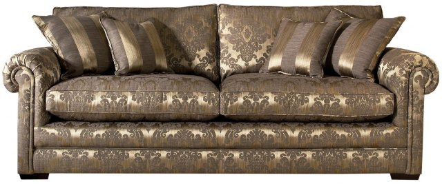 Parker Knoll Parker Knoll Canterbury Fabric 3 Seater Grand Sofa